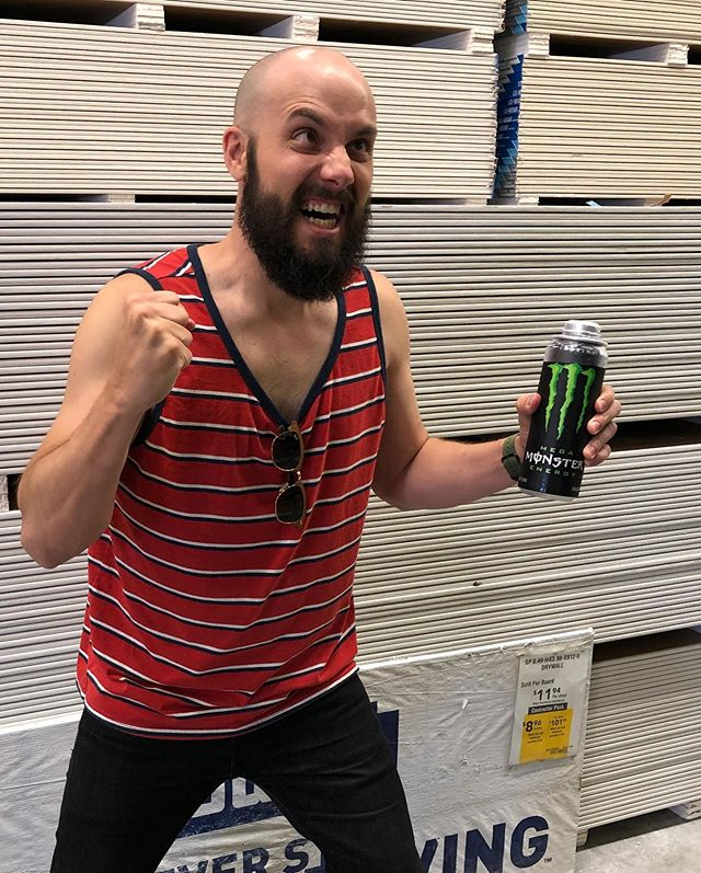 Is this meme dead yet? Cause this Kyle has a Monster Energy and is about to go dummy hard in the drywall section of Lowe's...