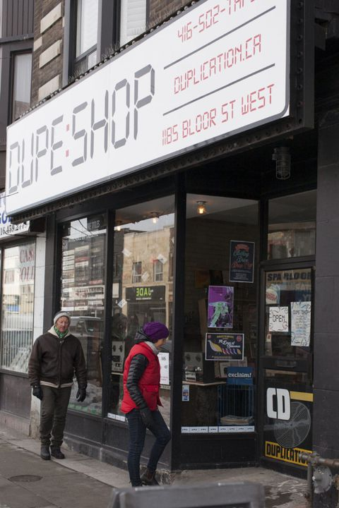 The Dupe Shop is Toronto's cassette store and analog emporium (1185 Bloor St West)