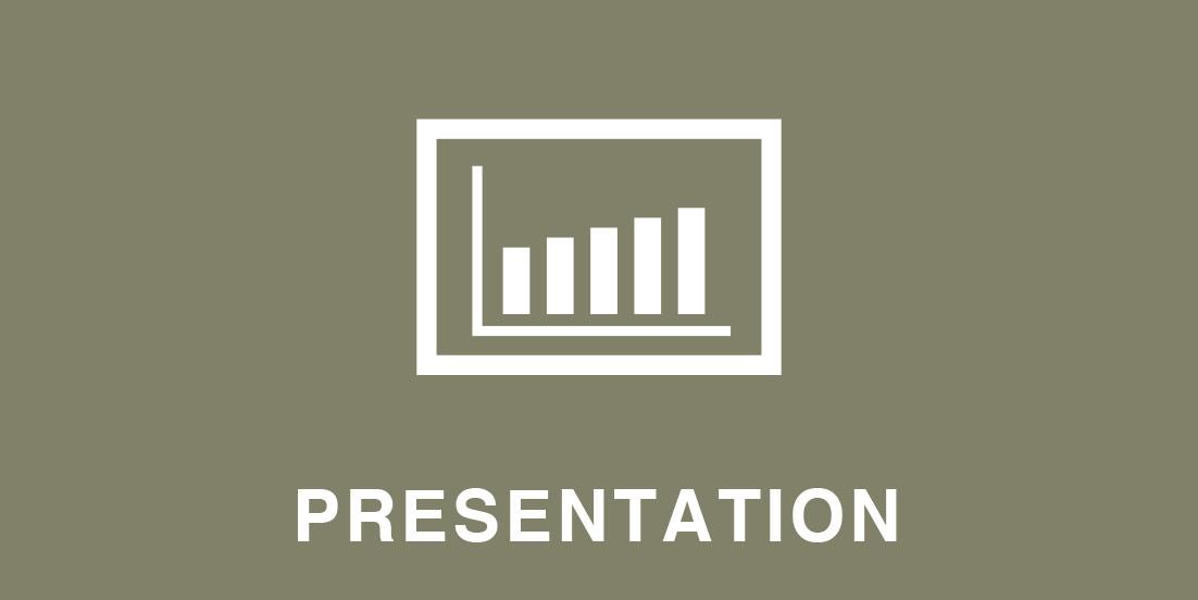 - プレゼンテーション聴衆の心を掴む / 組み立てる / タイミング・ジェスチャーなど