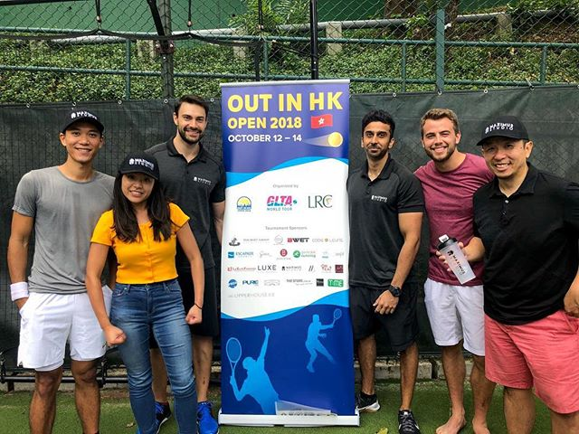 On Friday, we had the privilege to be part of @gaygameshk2022's annual #OutInHongKong Open Tournament for the LGBT community, where we held a special tennis training tips session. We had a great time teaching tennis specific exercises that can be done off court to help improve their tennis skills and fitness level! 🎾  Find out more about sports specific personal training with us! 📞: 2861 9090 📧: info@maximus-hk.com