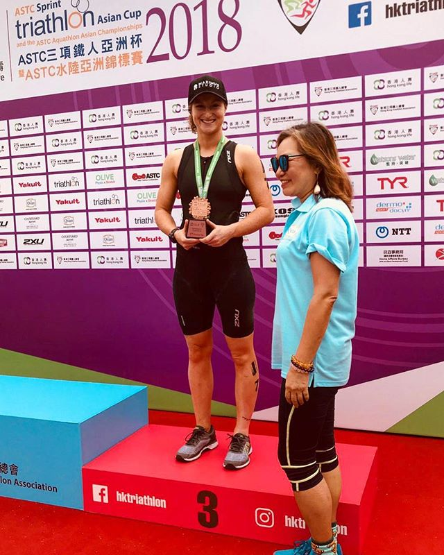 And she's done it again! Congratulations to our personal trainer Louise Mcallum for competing and coming in 3rd place for her age group & 18th overall (out of 73) in the Hong Kong Life ASTC Triathlon Asian Cup! . Having a strict training regime of 10 training sessions per week, this weekend Lou took on the Sprint Distance race which consisted of 750m swim, 20km cycle and a 5km run, Lou was able to complete the race with an impressive timing of 1:35:19! . Testing upper & lower body strengths through three athletic disciplines (swimming, cycling & running), triathlon is an event that tests your motivation, discipline and limit. Looking to improve that drive within you? #TrainWithLou! For more information: 📞: 2151 2178 📧: info@maximus-hk.com www.maximus-hk.com