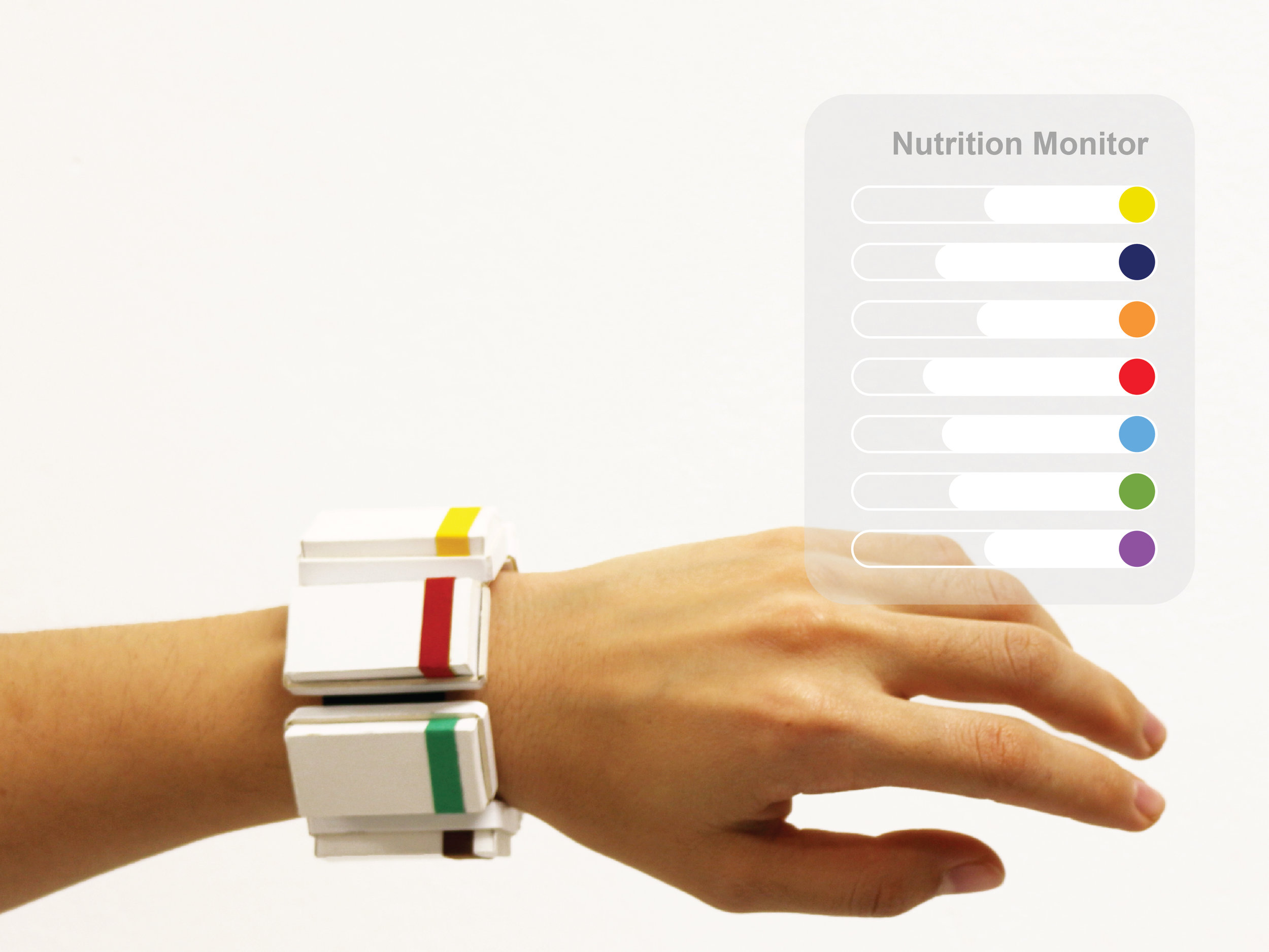 1 Monitors your nutrient levels throughout the day -