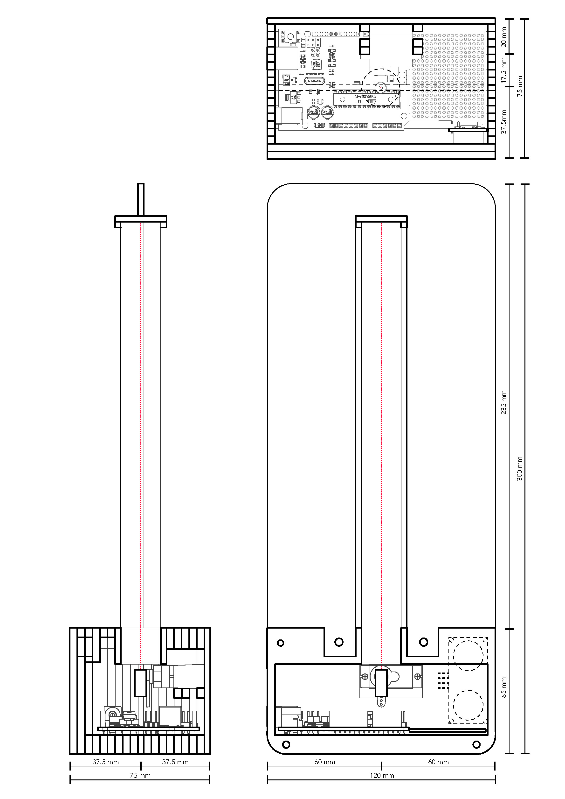 Schematic CAD drawings