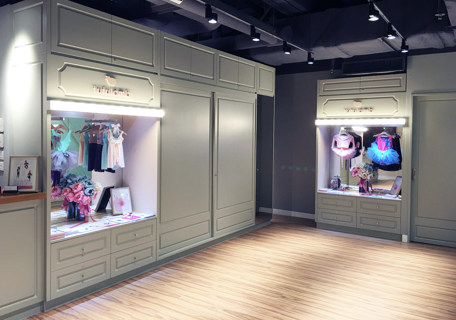 """TUTULAMB     Address :  CENTRAL : 4F, 8F, Lansing House, 41-47 Queen's Road Central. CAUSEWAY BAY : 9F, Capital Commercial Building, 26 Leighton Road. WONG CHUK HANG :Shop 311 One Island South 2 Heung Yip Road.                        Tel : (Central)6608 6689/(Wong Chuk Hang)6608 1928/(Causeway Bay)6608 1699  Email :  info@tutulamb.com   Website :  http://tutulamb.com   Facebook page :  https://www.facebook.com/tutulamb   Tutulamb equals """"not your average dance apparel!"""" From your kids' favourite colours and most adorable designs perfect for kids looking just like a prince/princess fresh out the storybooks without hurting your budget. Exquisite designs like no other you could find in Hong Kong. But of course, they do have the basics as well, just like ballet uniforms you'd need in simple and solid colours. Did I mention they have a line for adults too? Well, they do! Leotards, tights, ballet shoes, wrap skirts, they have them as well for adults. Where else could you look? The best part is that their location is super convenient and accessible. I know right? Quite a lot! That's alright because they have a friendly and knowledgeable staff willing to help you find the best one for you and/or your kid!"""