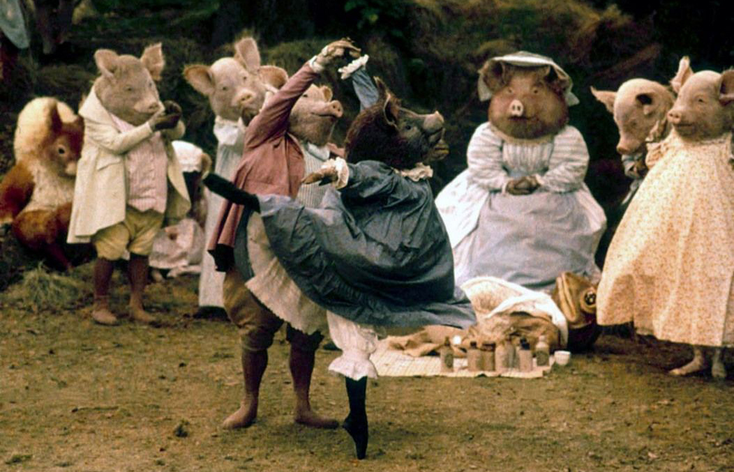 """The Tales of Beatrix Potter (1971):  Before there were dancers in t-rex costumes (if you haven't a clue what I'm talking about, search up """"Dancing Dinosaur T Rex Ballerina""""), choreographer Sir Frederick Ashton and The Royal Ballet were asked to take part in a ballet film based on the famous children's books,  The Tales of Beatrix Potter . In 1992, the ballet was brought to the stage as a live performance. Featuring all our favourite furry characters from the books, the ballet dancers never made dancing look easier despite these heavy mascot-like costumes (a reminder of life before CGI). The 1971 ballet film can be found on DVD if you fancy a ballet performance right in your very own home theatre. Otherwise, be sure to check out some clips on Youtube, and my particular favourite excerpt,  The Tale of Squirrel Nutkin !"""