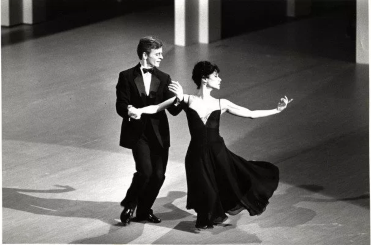 Sinatra Suite (1983):  Short and suite, this 14 minute ballet takes the best of both worlds, flawlessly romantic dance movements of ballet with the sweet crooning sounds of Frank Sinatra. Choreographed by Twyla Tharp,  Sinatra Suite  features Mikhail Baryshnikov and Elaine Kudo in an evening ballet accompanied by the music recordings of Mr. Sinatra himself. For all those 1980s lovers out there, (what's not to love about perms, neon fashion and aerobic video workouts) this ballet brings a classic 80s ambience to the stage, with tuxedos and gowns, and gushy romantic dance numbers to last us a lifetime (giving  The Notebook  a run for its money). Sophistication at its finest, this ballet gives us the other side of the world famous ballet dancer Mikhail Baryshnikov, both artistically vulnerable and suave.  Sinatra Suite  would be the perfect addition to a modern day ballet season, bringing back class, simplicity and beauty to the definition of ballet.