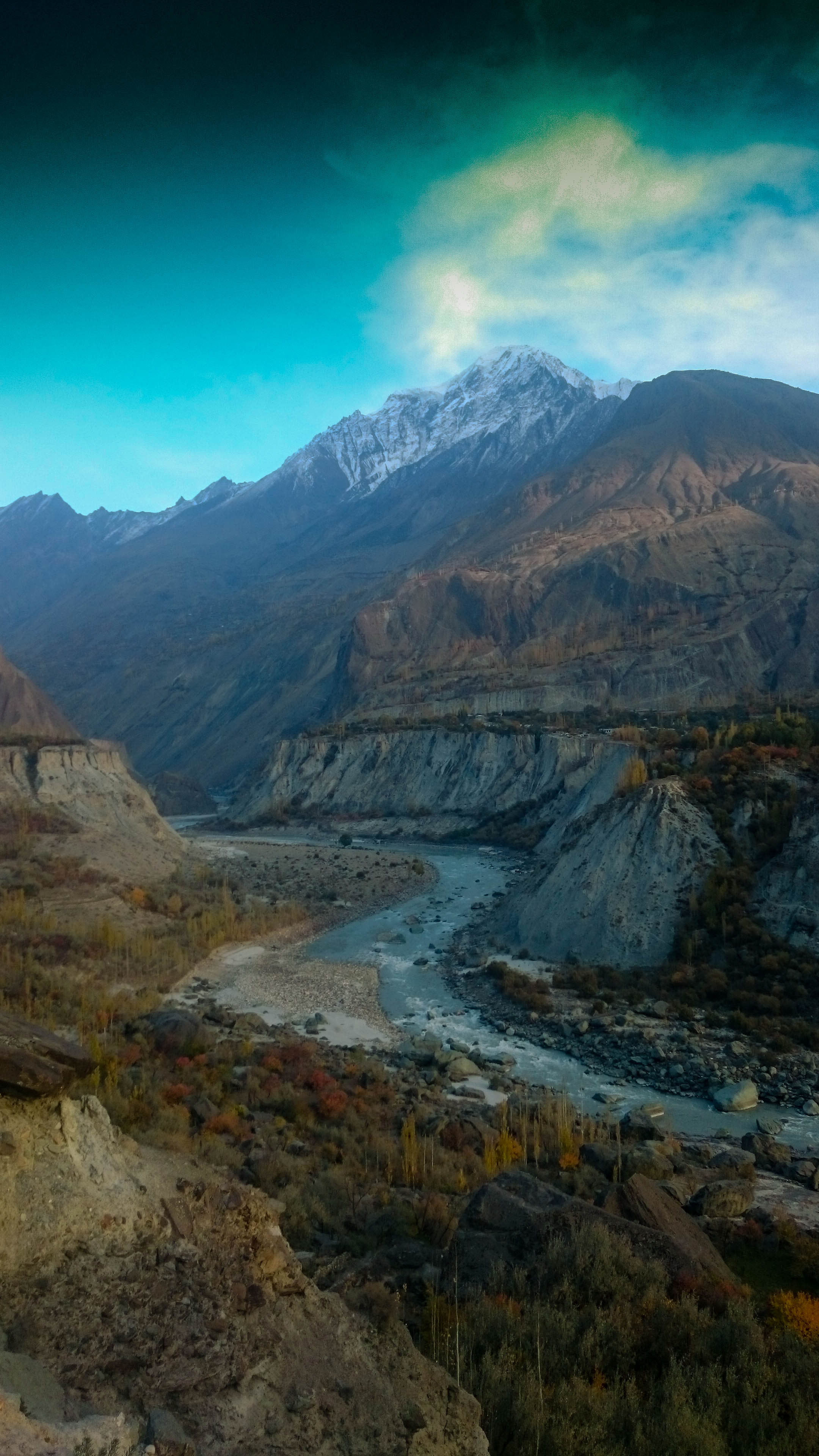 The Hunza Valley.