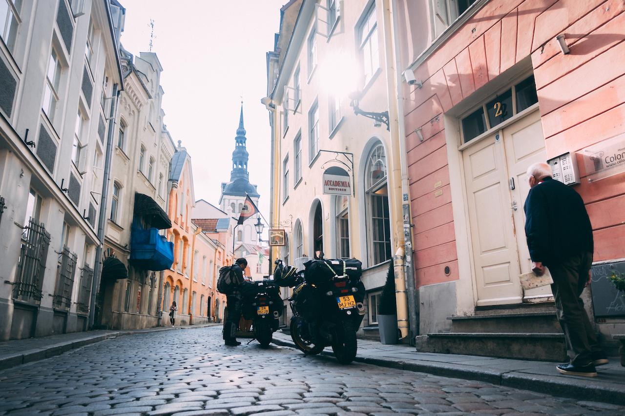 Ready to leave Tallinn