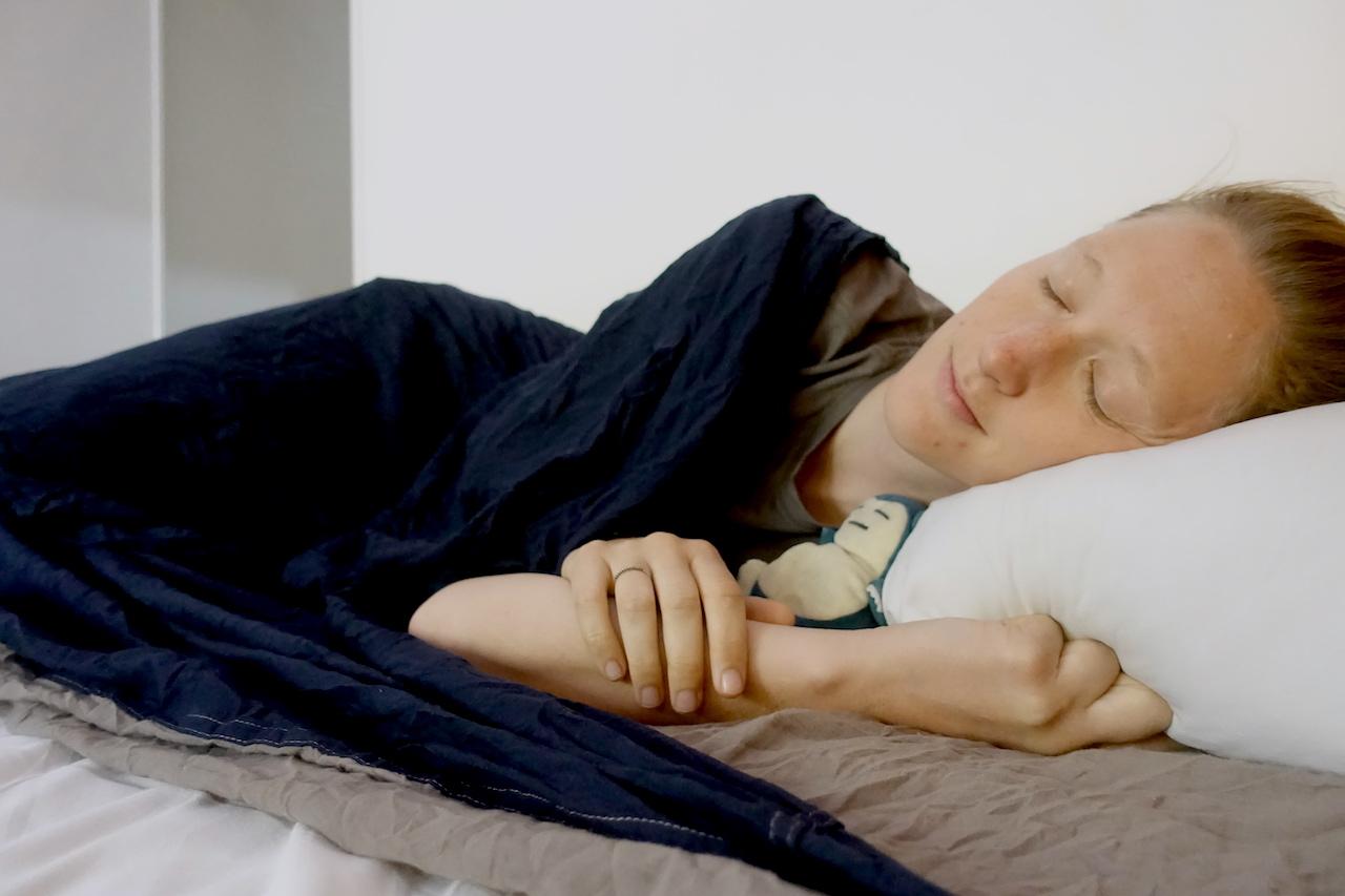 A good night sleep is essential