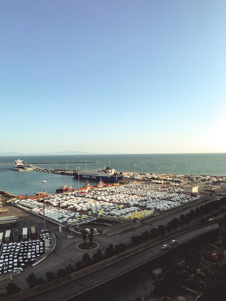 Port of Salerno.