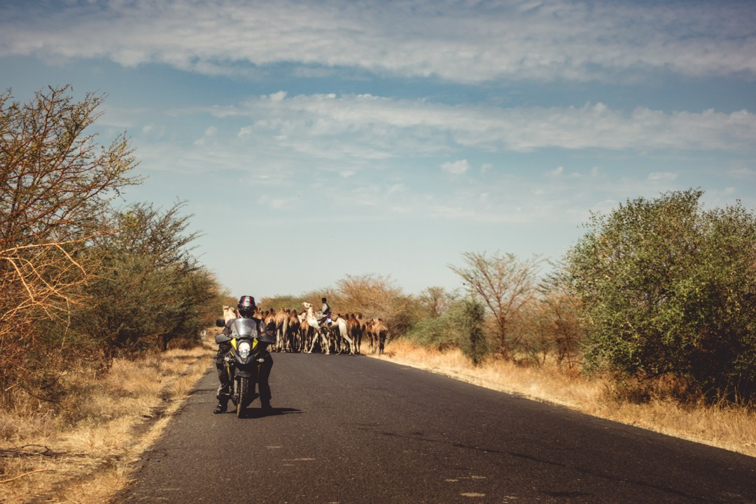 Traffic jam on the way to Ethiopia