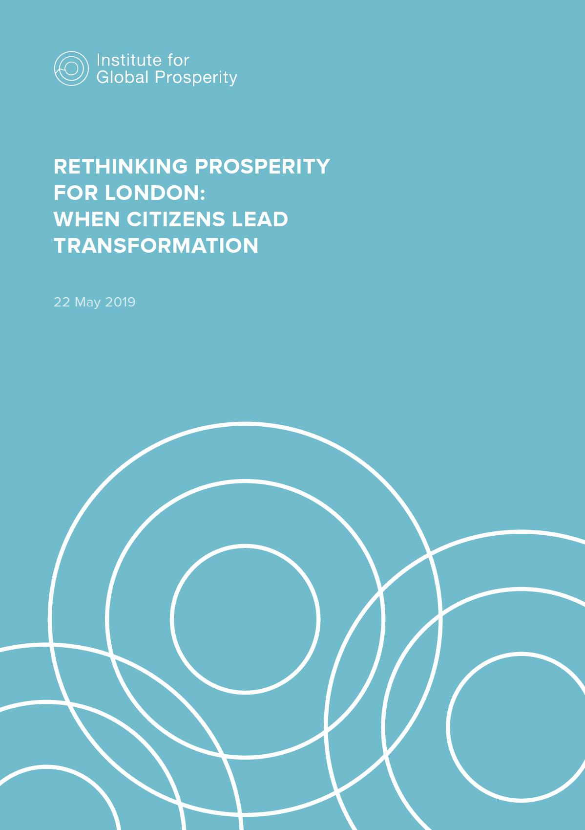 Rethinking Prosperity for London