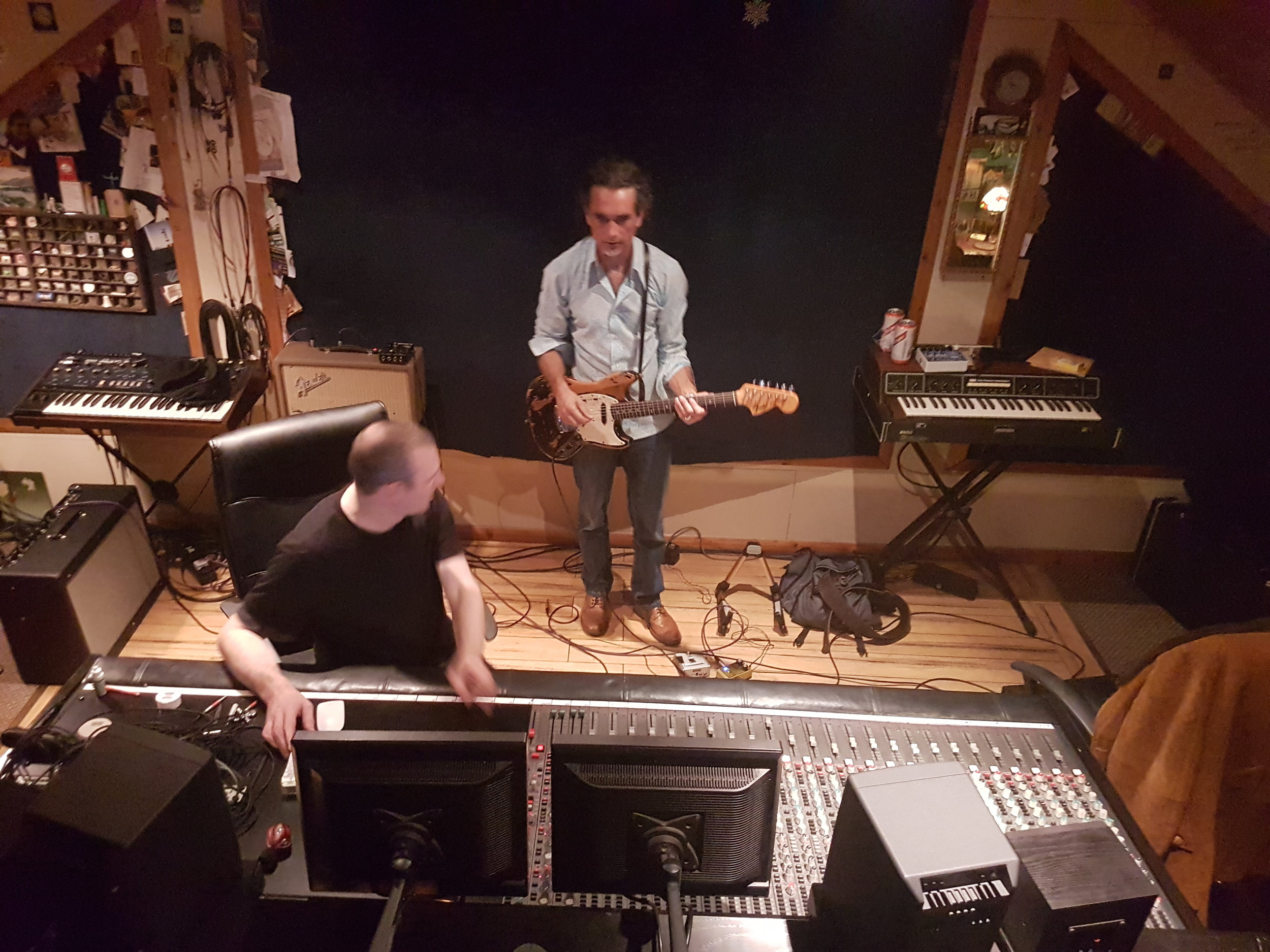 studio - The band are currently recording their next single,Warpath at the legendary Seamus Wong Studios, Leicester. Every thing is sounding huge, dark and stormy! Single and additional tracks will be released early 2018. More details soon.