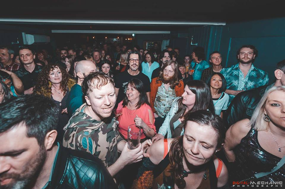 WOW! - What a blast! Thanks to all the beautiful, crazy rebels that packed out The Cookie to help Goldwater record the video to their next single, Warpath. You created such an electric atmosphere! Click here to see all the photos from the show by Leicester legend, Rob Gurney.