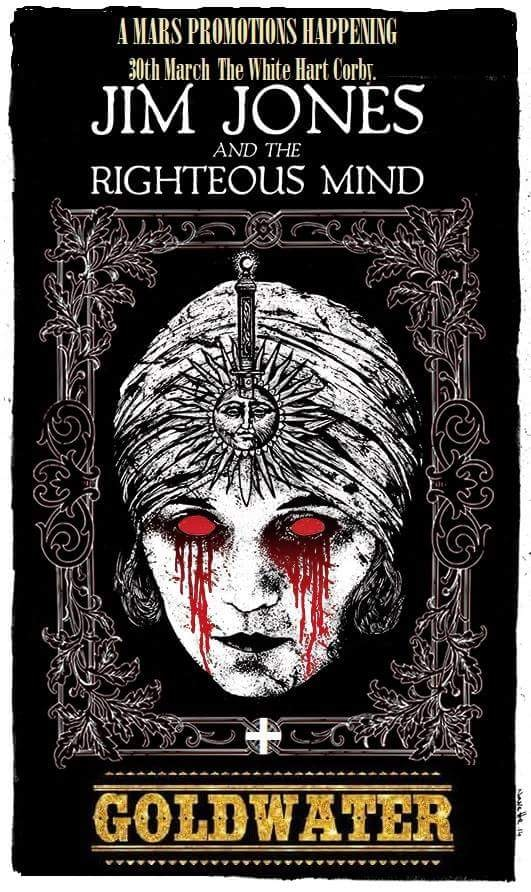 Jim jones and the rightious mind! - HELL YEAH! We're supporting the legendary Jim Jones next year! More details coming soon.