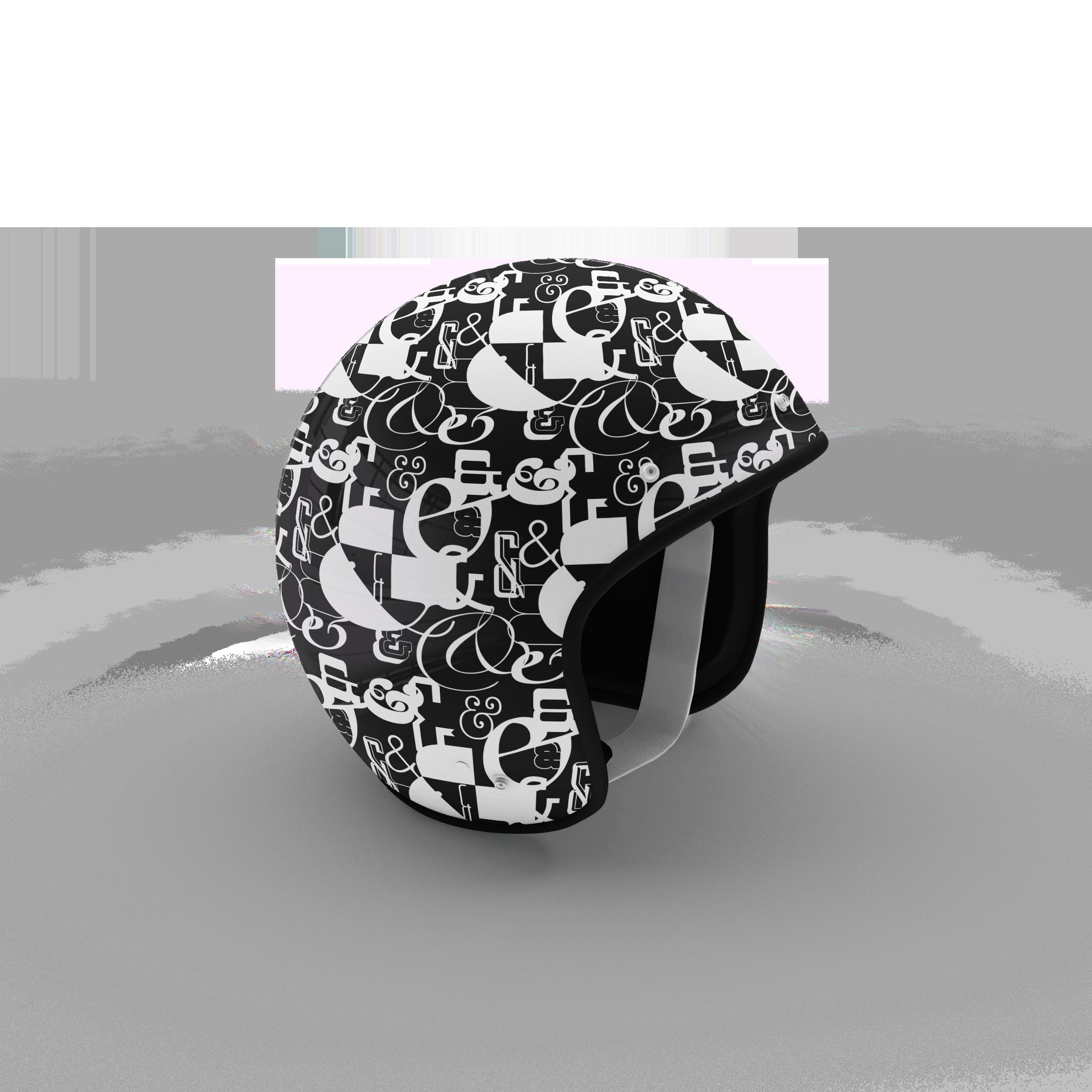 ampersand motorcycle helmet.png