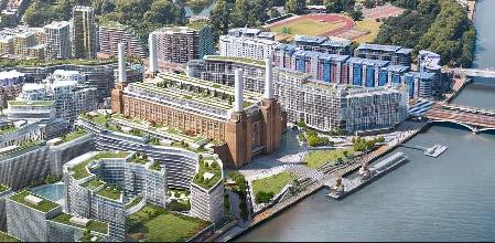 Battersea - Aerial View