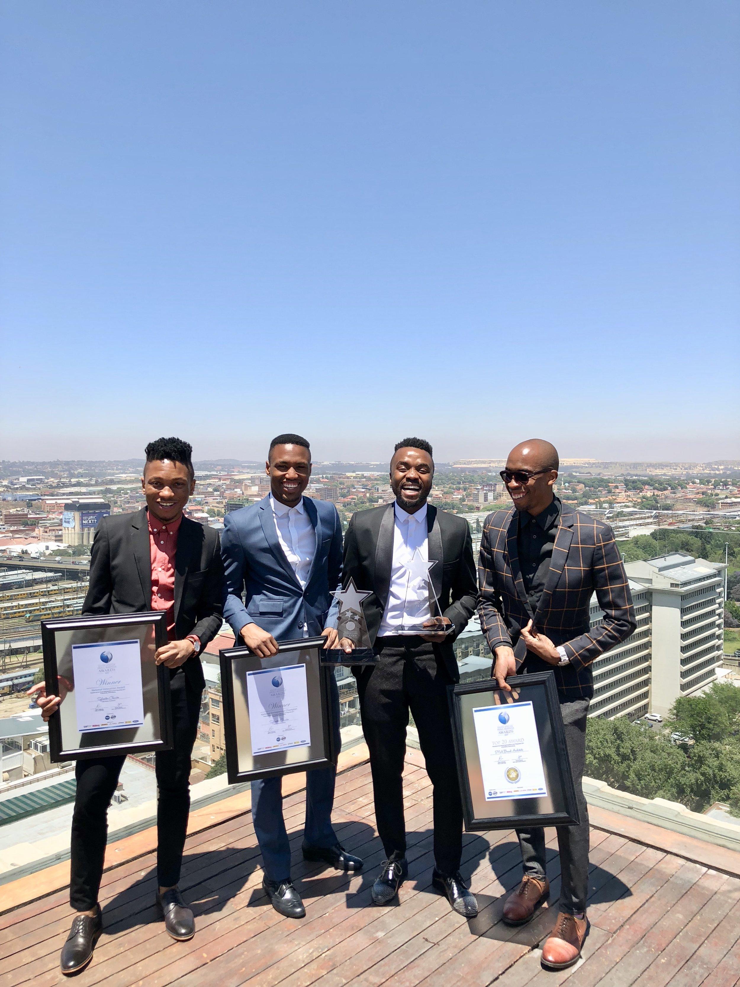 DNA team - Kutloano_Dingaan, Cedrick_Diphoko, Sylvester_Chauke,Vincent_Zondo.jpg