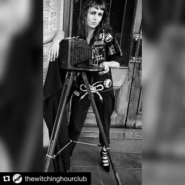 #Repost @thewitchinghourclub with @get_repost ・・・ 🕸 PHOTOGRAPHER ANNOUNCEMENT 🕸  I am incredibly excited to announce that we have one of the most amazing and talented women I have ever met capturing all of our memories at The Witching Hour.  @lizhamdotcom of @punkgirlsbook  FRIDAY 22nd March 🖤