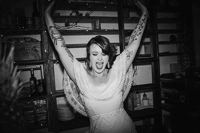 Huge congrats #punkgirl @missalexdarroch for an amazing punk rock wedding!!! What an absolute blast ⚡️🖤⚡️