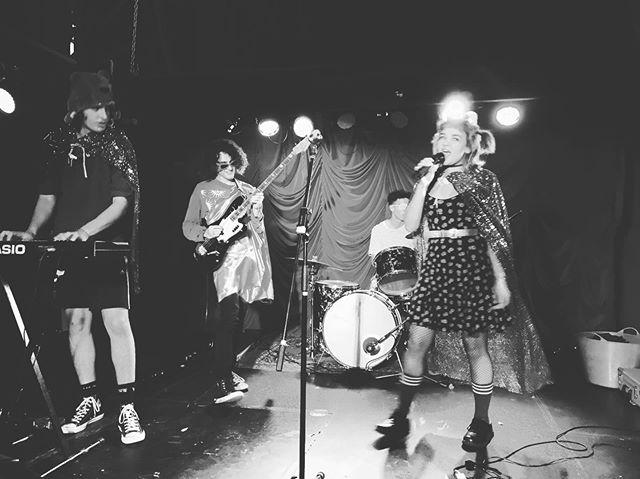 New fave local band @nervouswrexband ⚡️🖤⚡️