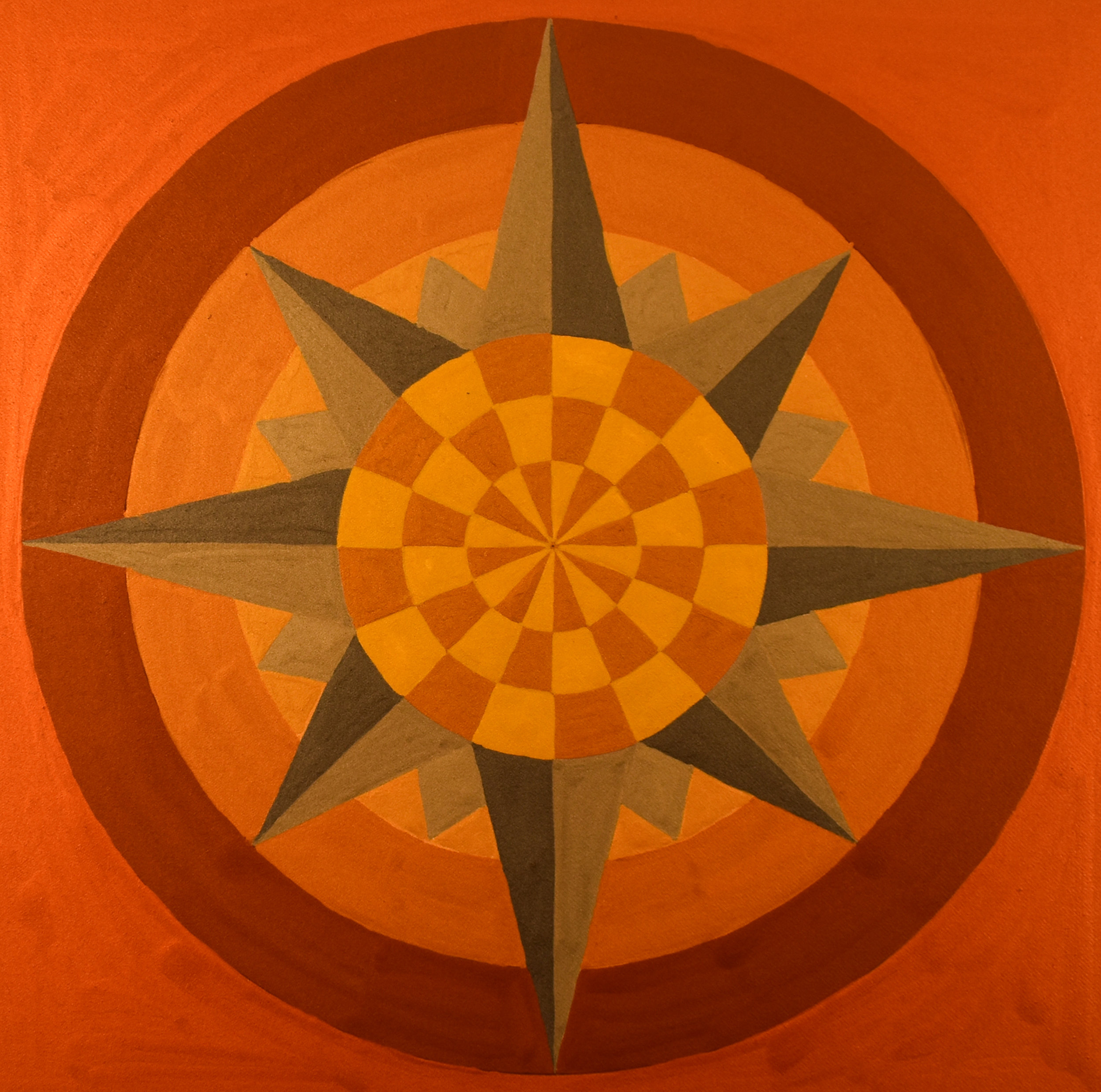 "#38 ""Compass Rose XXXVIII"""