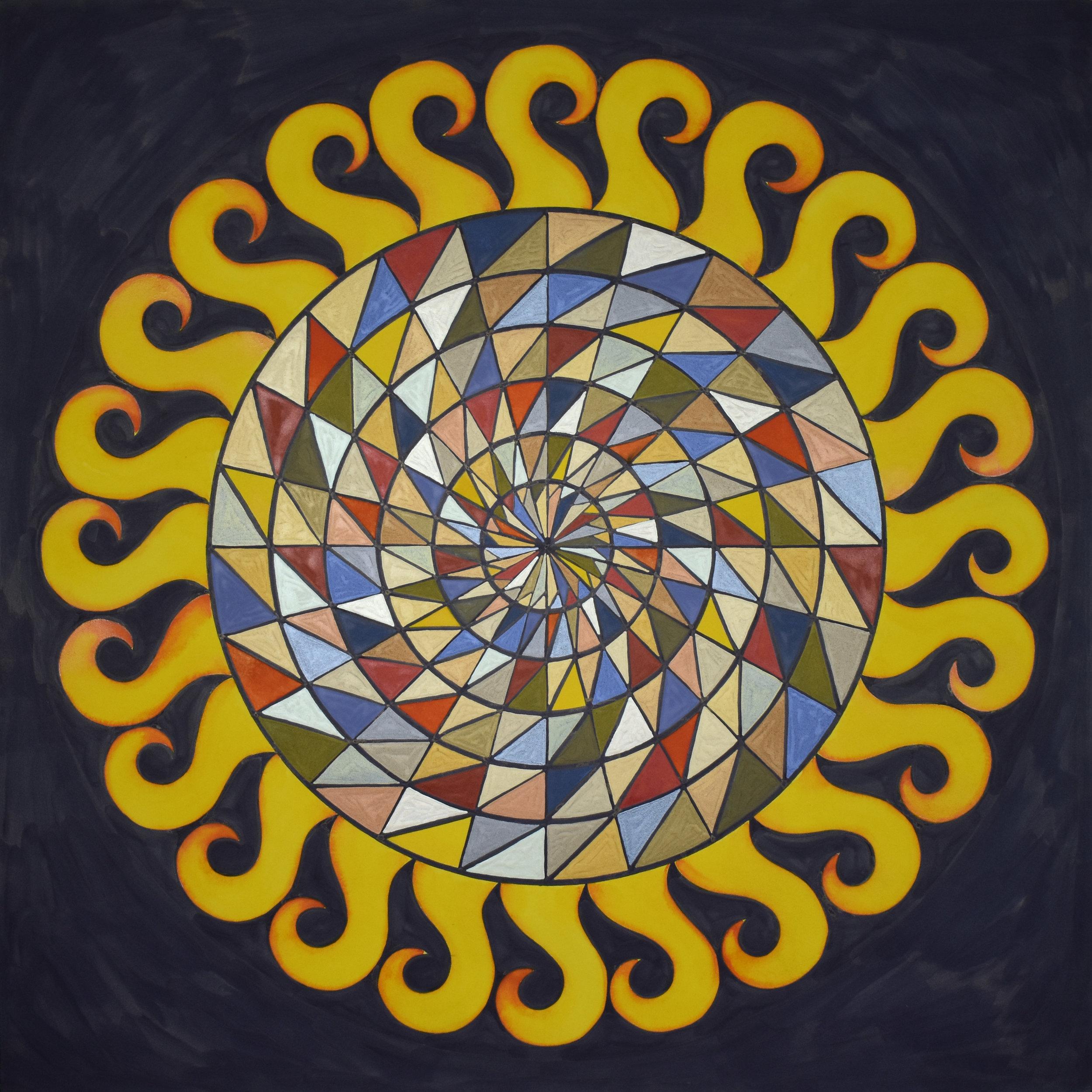 "#91 ""Mandala LXXII"""