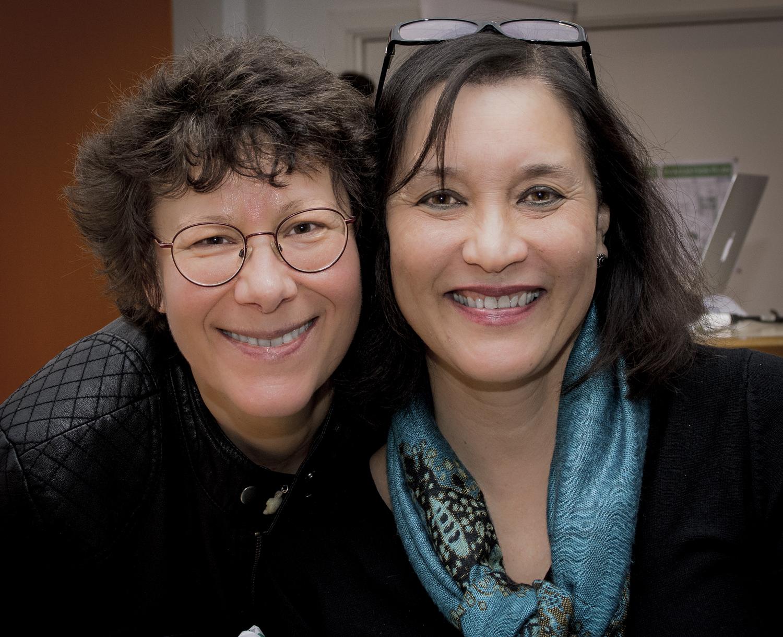 Eva-Marie och Lillian Pearl Bridges. Eva-Marie Janelo have studied with Lillian Pearl Bridges since 2006.