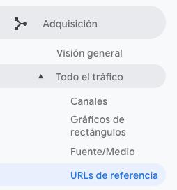 URLs de referencia en Google Analytics — PLETÓRICA DESIGNS