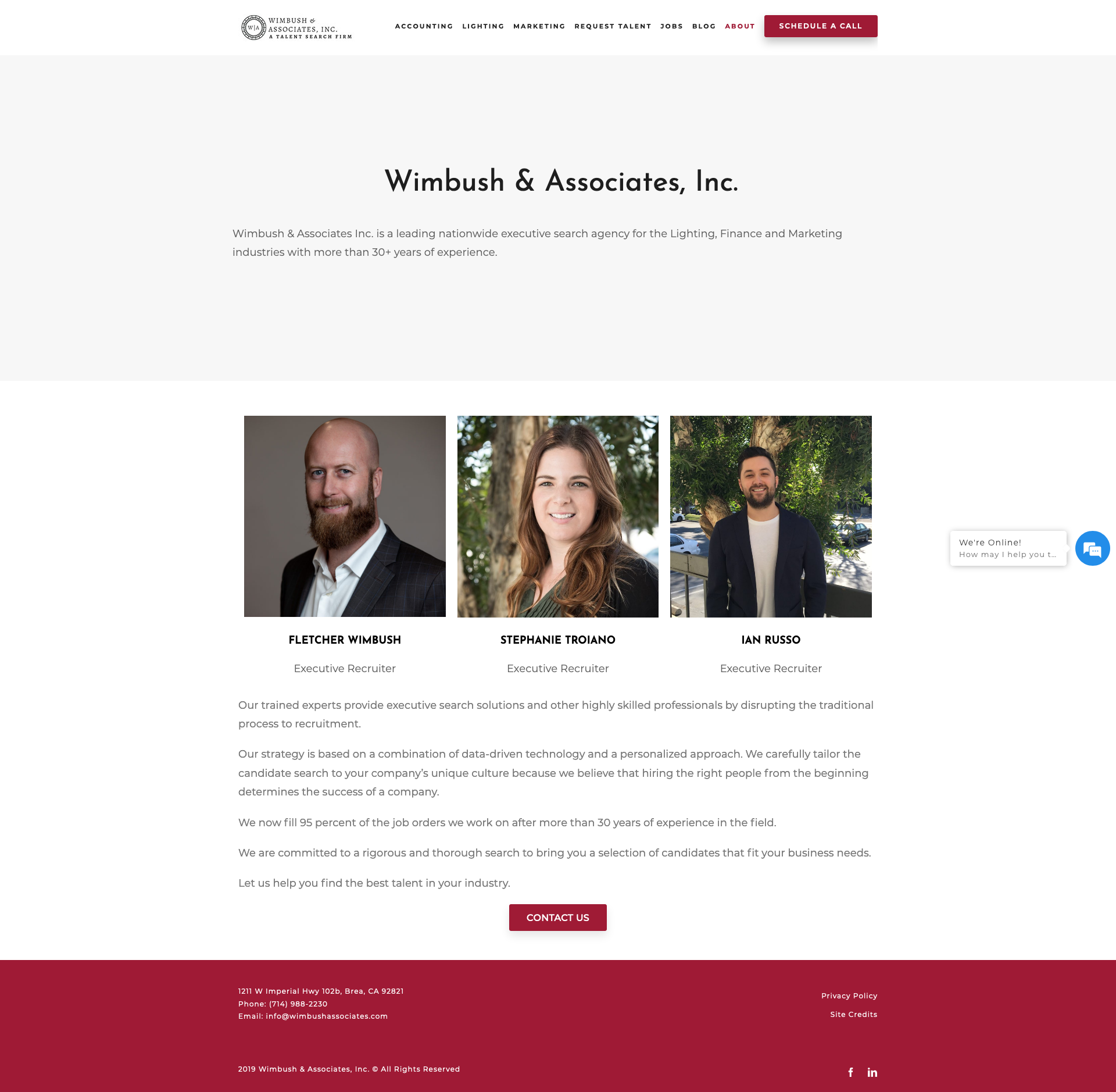 Wimbush Associates, Inc - About Our Recruiting Agency.png
