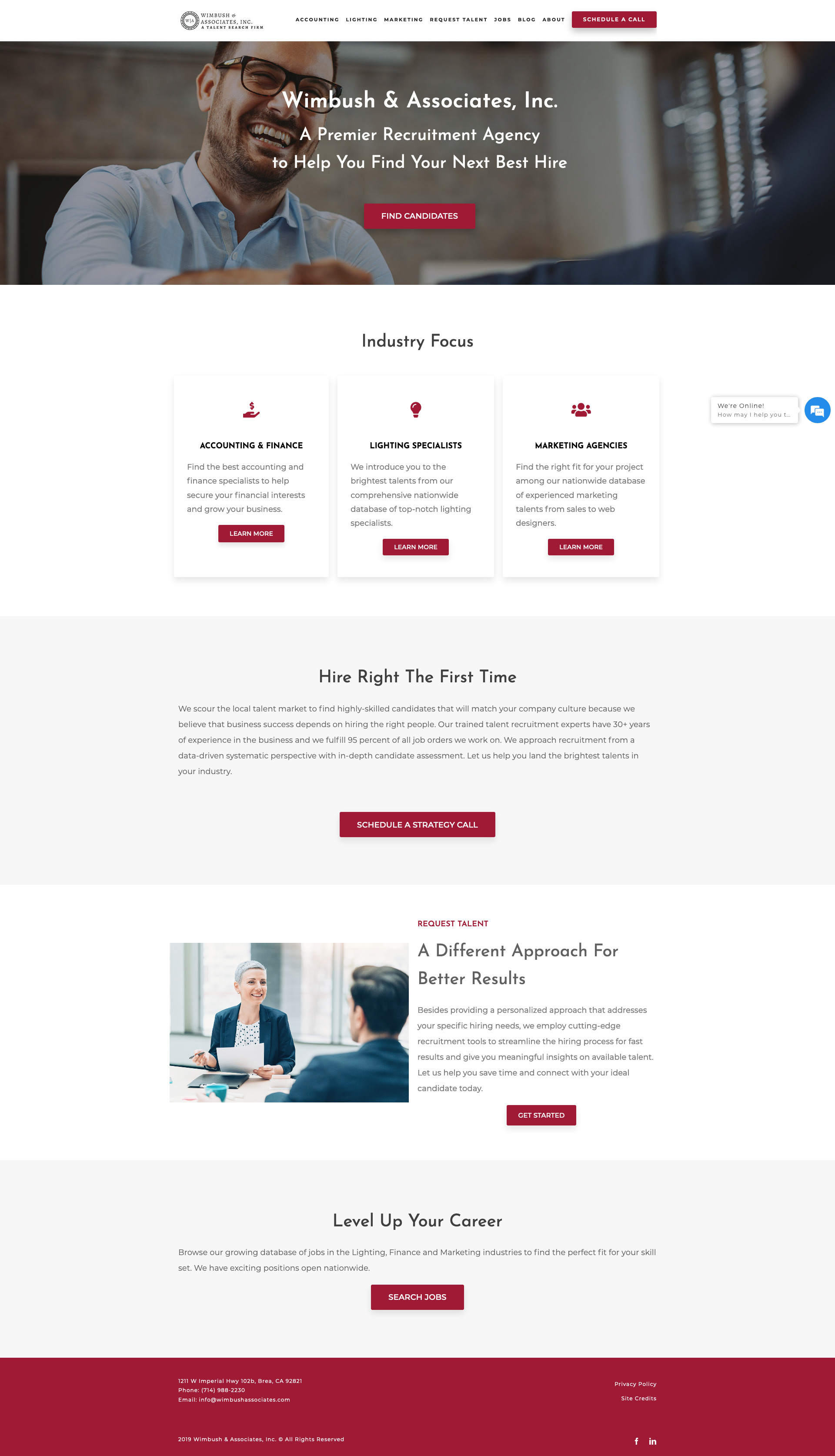 Wimbush Associates, Inc. WordPress Website — PLETÓRICA DESIGNS