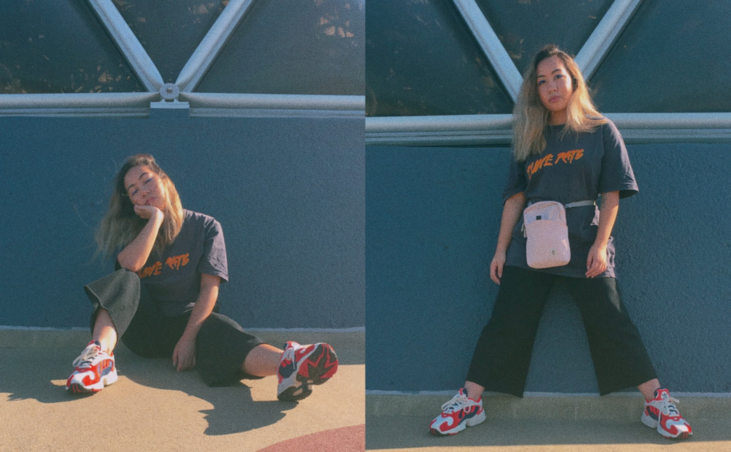 Band Tee //  Dune Rats Merch 'Sexy Beach'  Culottes //  Alice in the Eve Paloma  Side Bag // Crumpler  (Similar Item)