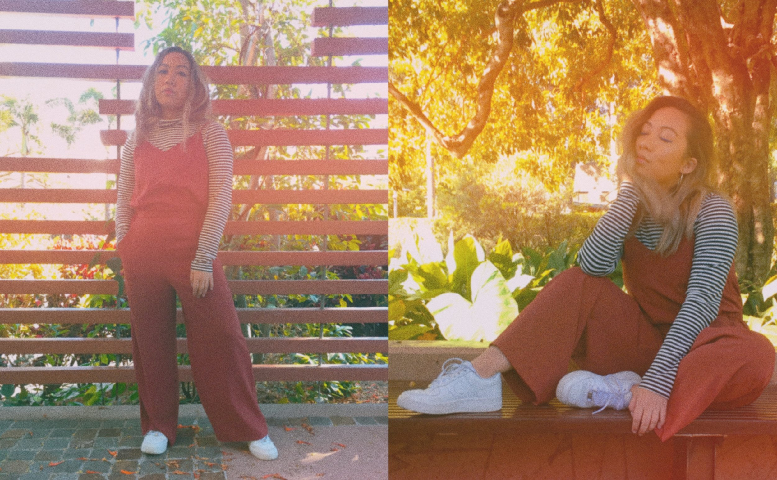 Turtleneck //  UNIQLO Heattech   (Similar Item)  Shoes //  Nike Air Force 1  Jumpsuit // UNIQLO (Similar Items:  One ,  Two ,  Three ,  Four )