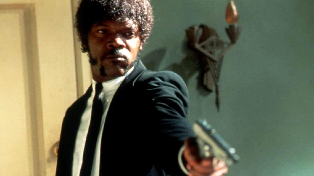 Samuel L. Jackson in  Pulp Fiction  - Image sourced  Herald Sun