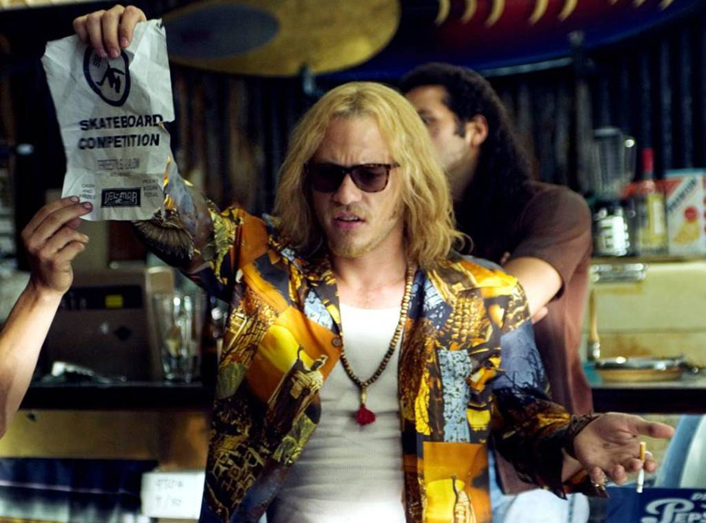 Heath Ledger in  Lords of Dogtown  - Image sourced  E! Online