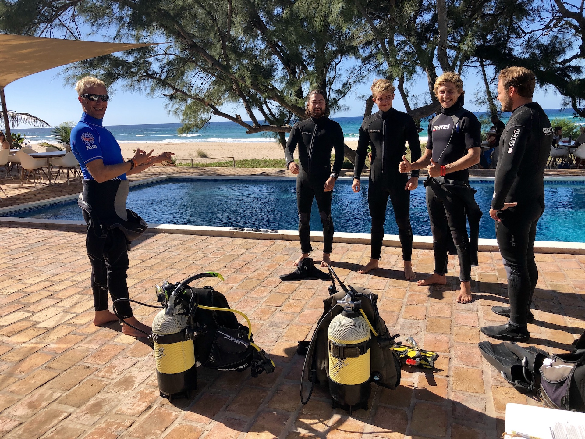 PADI IDC IN TOFO WITH COURSE DIRECTOR JARI