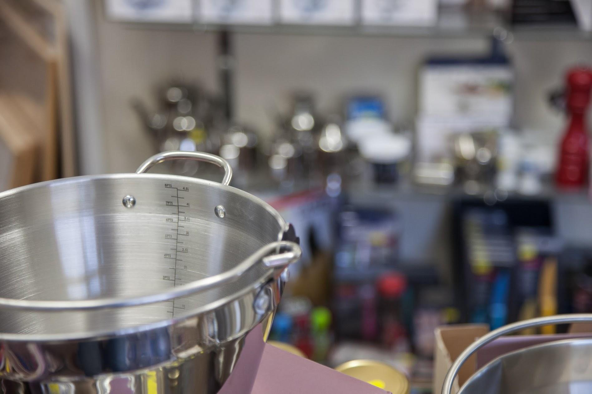 Pots, pans and gadgets galore!