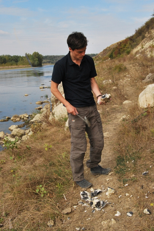 RAW MATERIAL SURVEY ON THE PRUT RIVER, ROMANIA