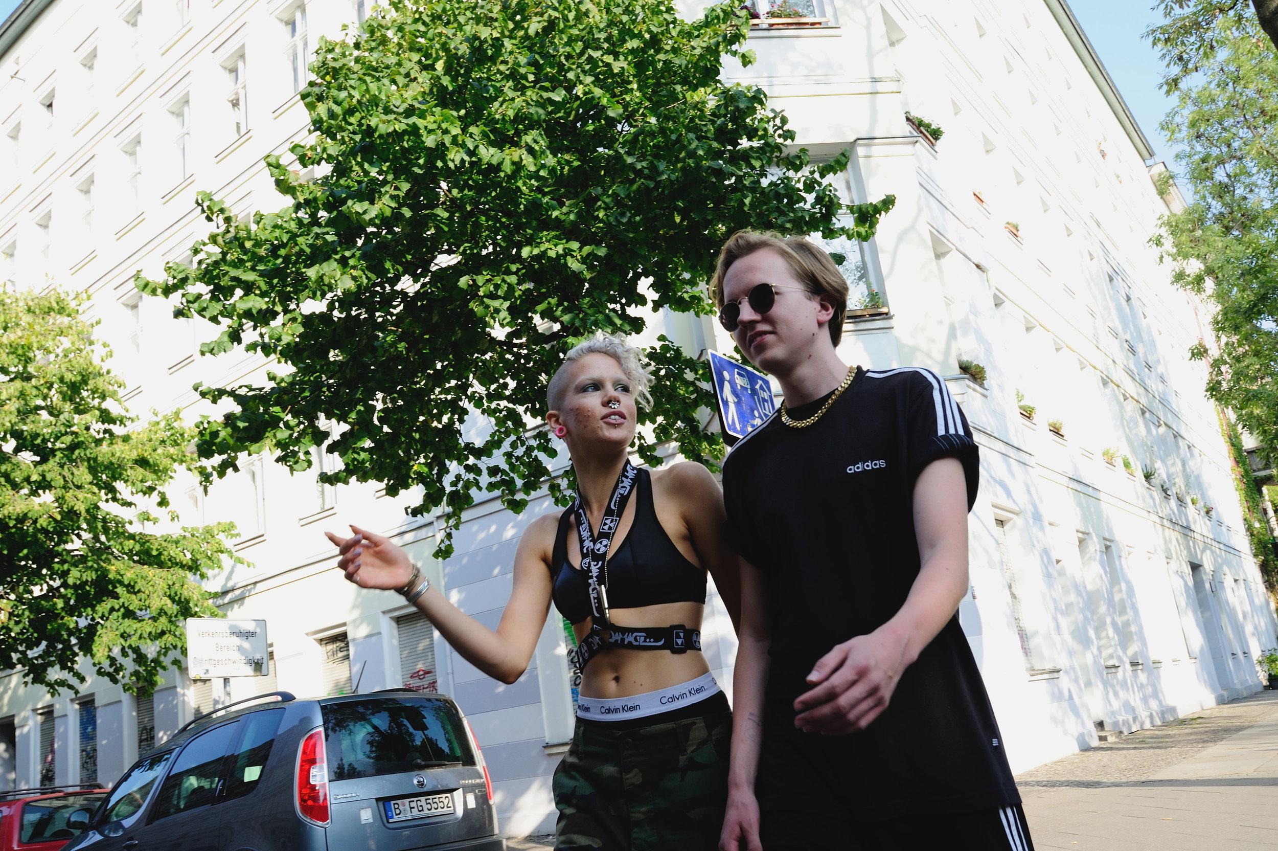 Models: Jana, Anti Photography Joerg Brunsendorf Styling: Teodora Jimborean Hair & Make-up: Gianluca Venerdini