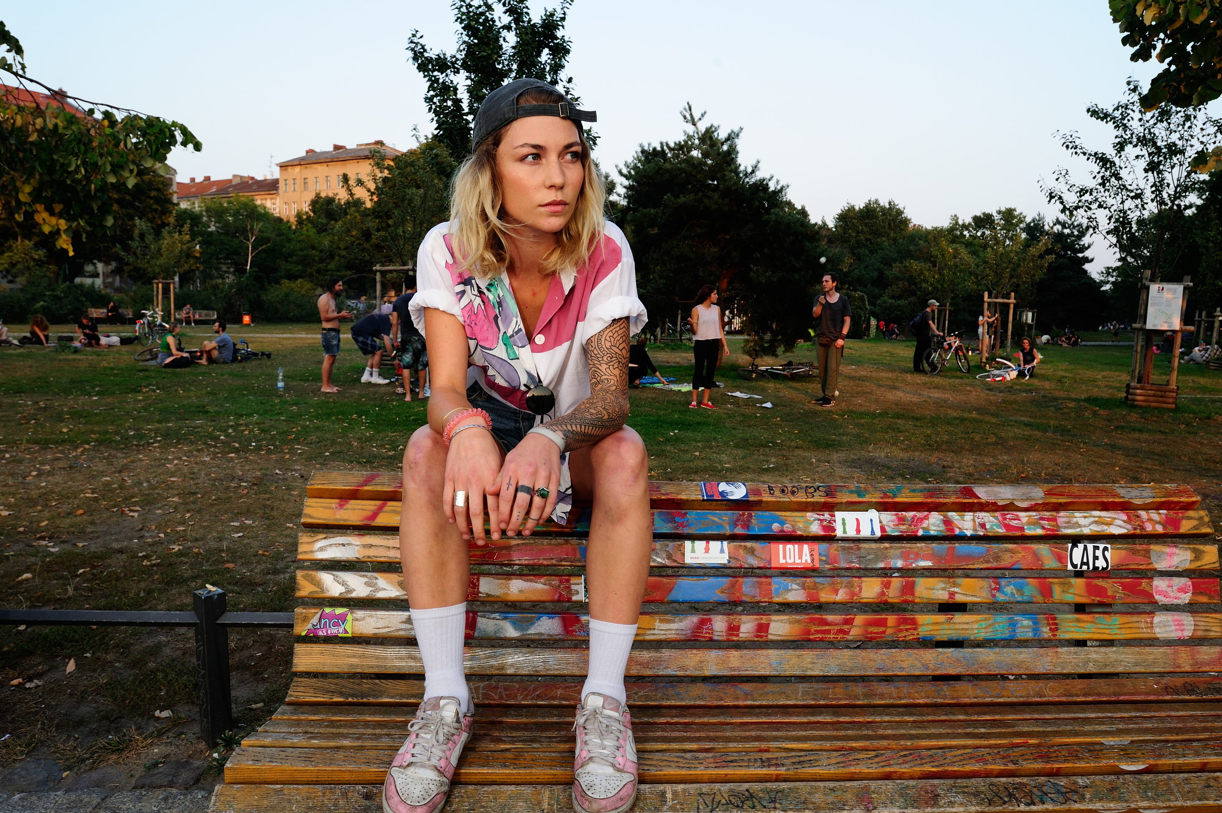 Models: Lea Lassere hotography:Joerg Brunsendorf Styling: Teodora Jimborean  Hair & Make-up: Gianluca Venerdini