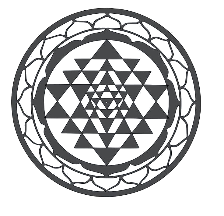 """ Sri Yantra - Sacred Geometry """