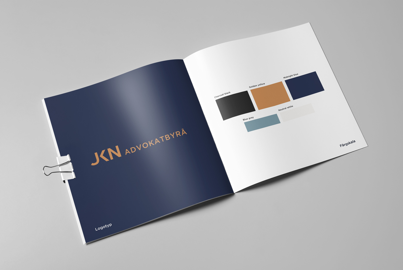 JKN Advokatbyrå - Branding & webb
