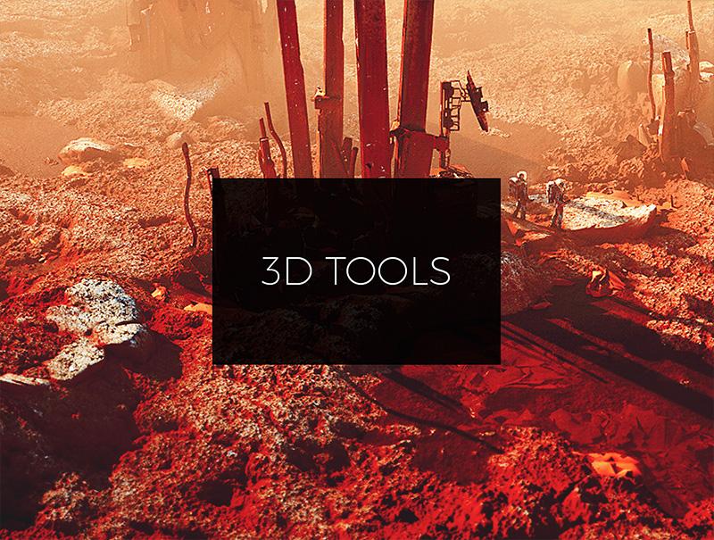 3D очень большая тема и существует много программ. Марк покажет как он использует различные инструменты, чтобы комбинировать их возможности в своих целях!