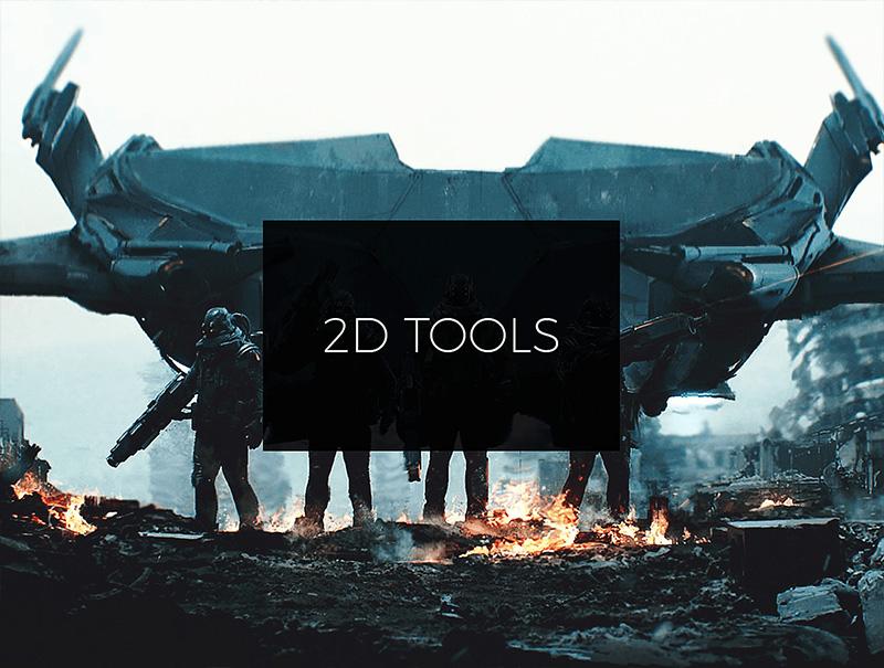 Самые используемые инструменты в работе концепт-художника. Только самые важные навыки без лишней воды. Все что нужно знать профессионалу в CG.