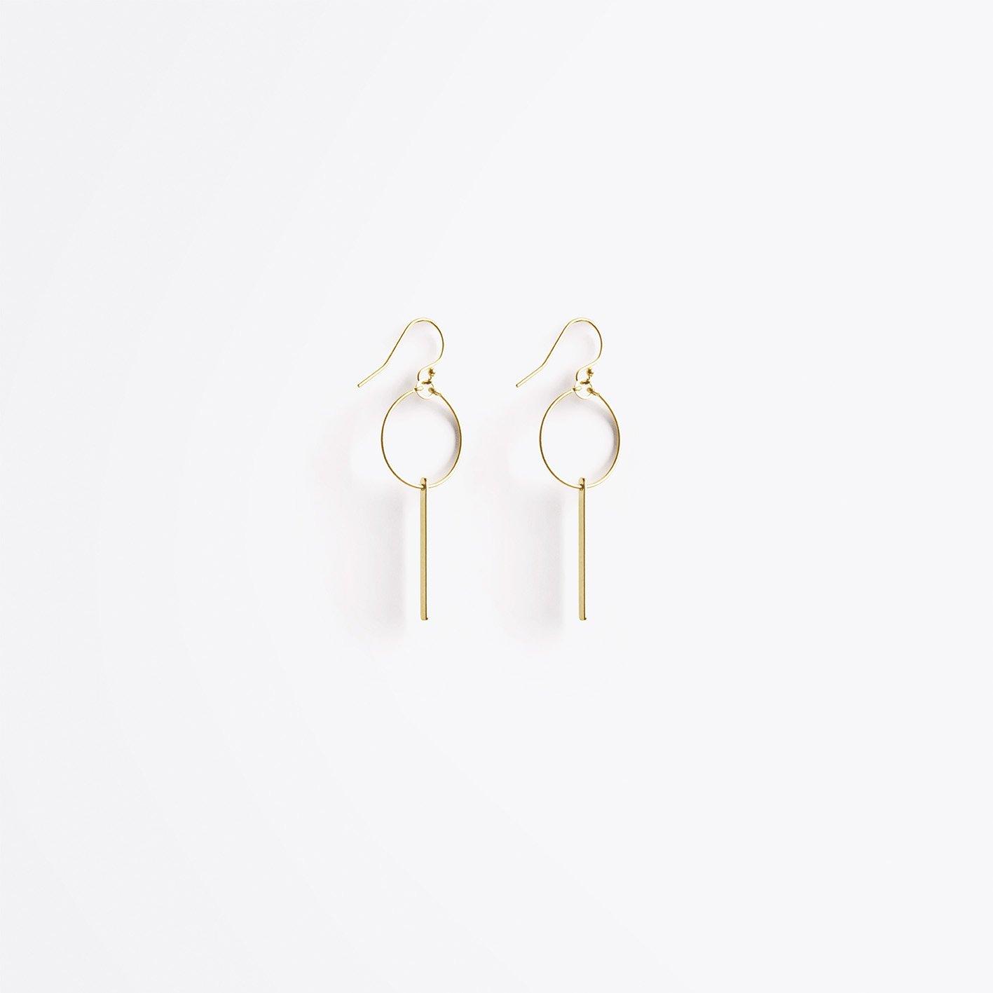 Aktis cultural hoop earring (£36.00)