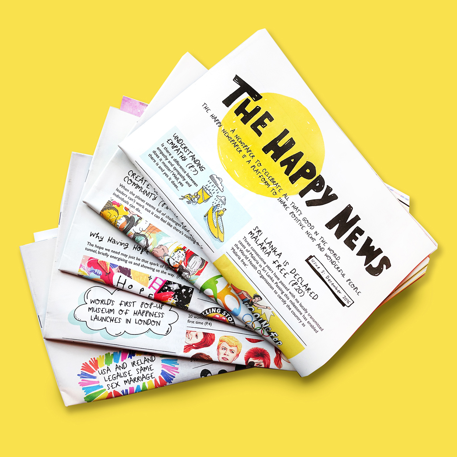 The Happy Newspaper (GB£3.99/3months)