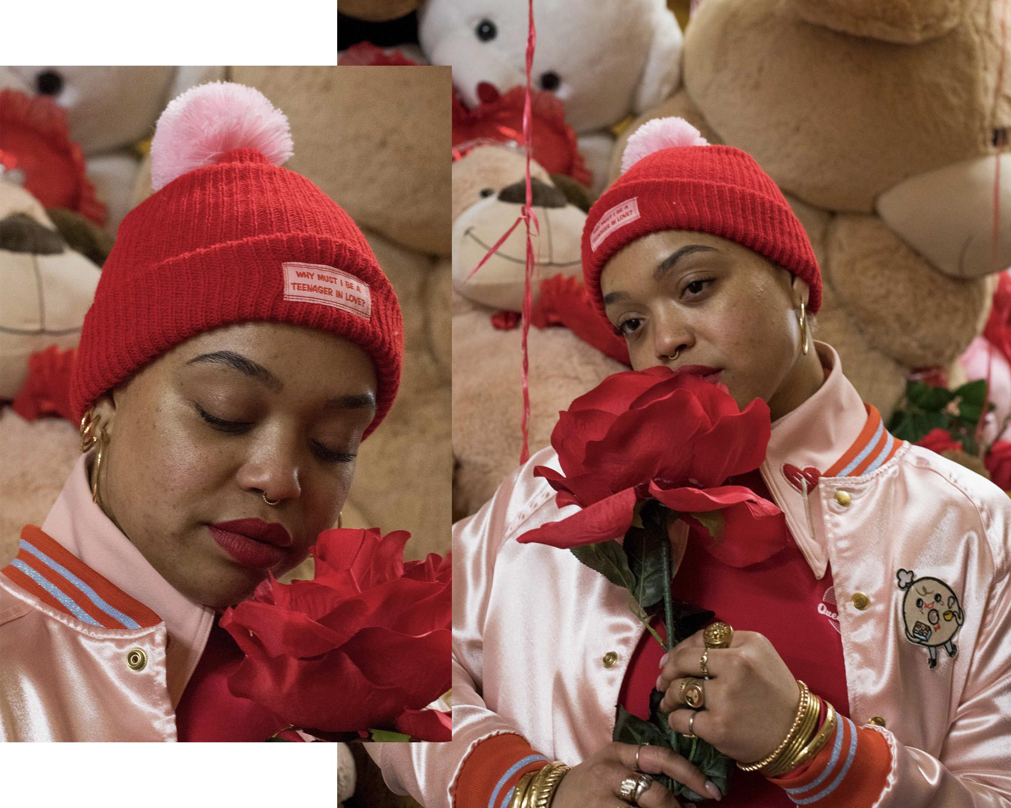 Teenager In Love beanie (US$35)