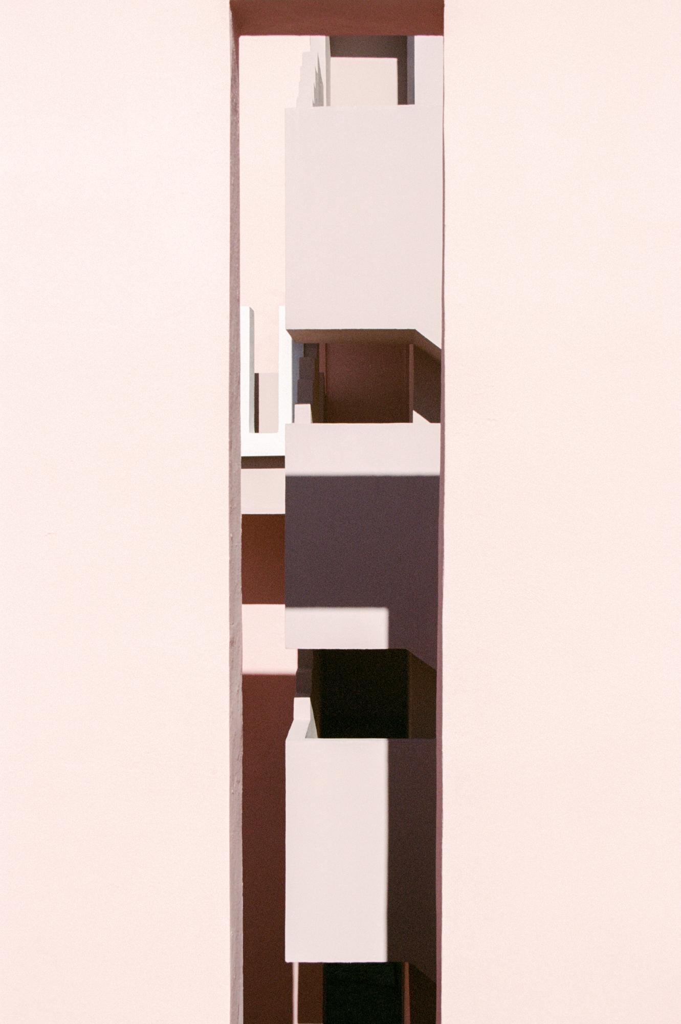 Abstrait, Muralla Roja