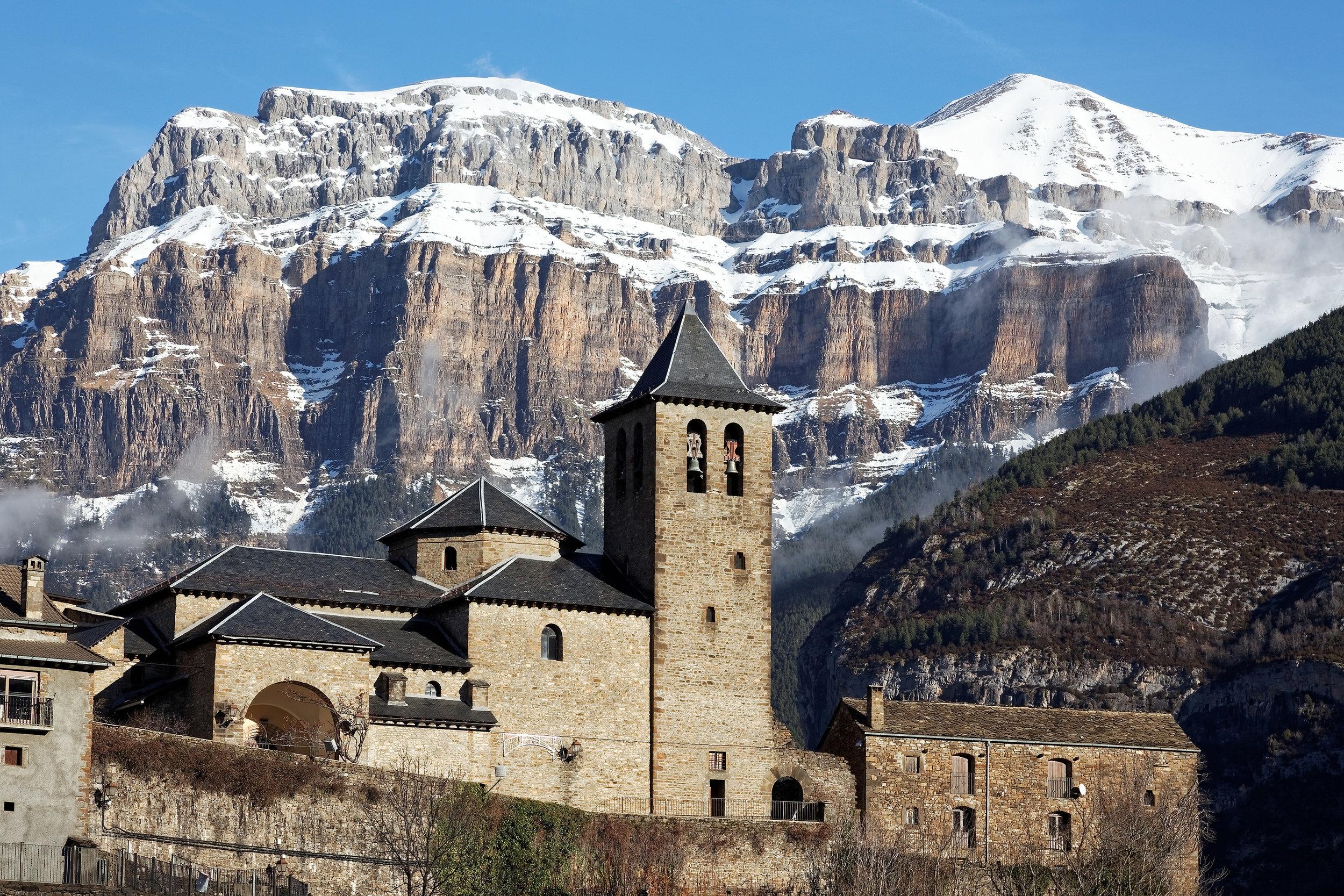 Village de Torla-Ordesa, Espagne
