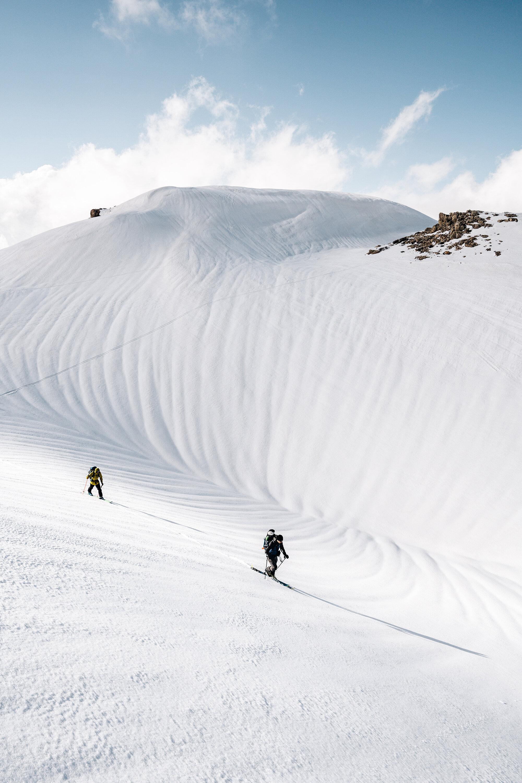 Arrivée sur les hautes dunes du Mont Sannine